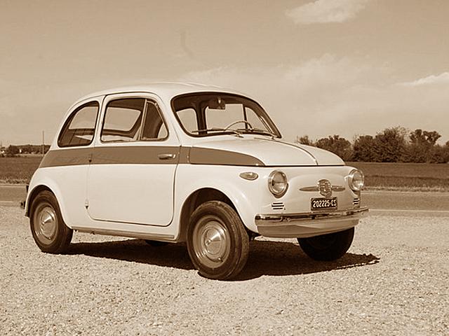 1959 FIAT NUOVA 500 Sport